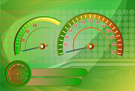 Speedometer needle Vector