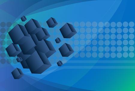 tecnologia virtual: La tecnolog�a Virtual espacio vectorial de fondo.
