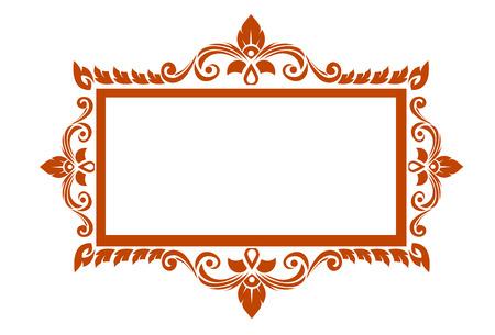 art frame: Thai elegant art frame