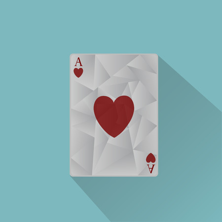 ace: Vector ace playing card