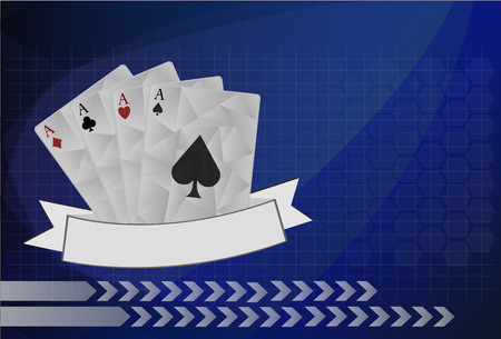 ace of diamonds: Vector playing cards