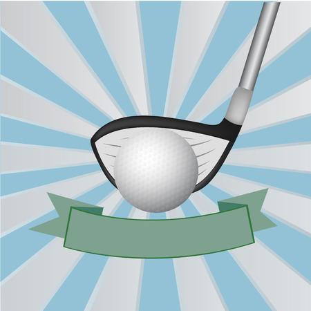 iron fun: Golf background ,Vector