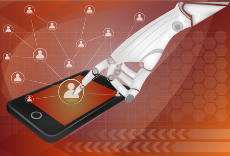 social network, communication in the global smart phone networks