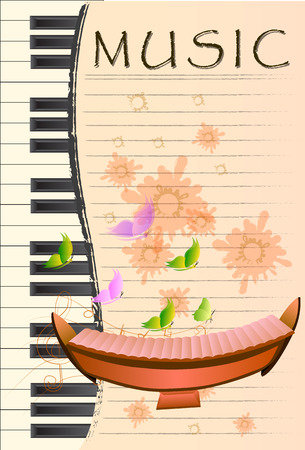 xylophone, Musical background