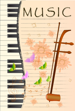 geigen: Treble Geige oder Sopran klang Schnur Thai-Musik-Instrument