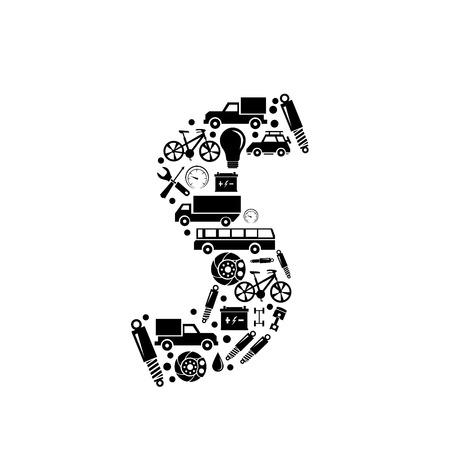 alphabet s: