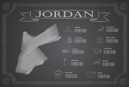jordanian: Jordan,infographics, statistical data, sights.