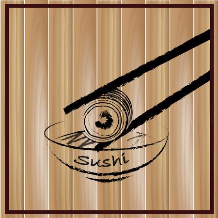 10eps: Sushi icon Vector Illustration, 10eps