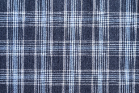 country western: checkered fabric Stock Photo