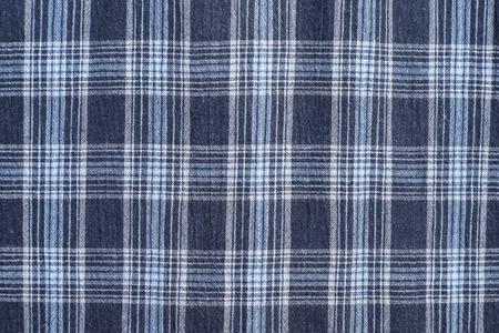western pattern: checkered fabric Stock Photo