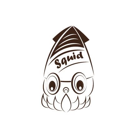squid: icon squid Illustration