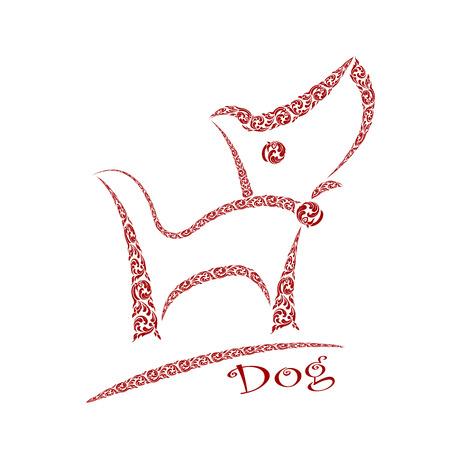 dog design Illustration