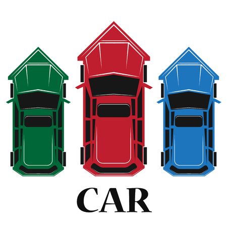 Car top icon , vector illustration Illustration