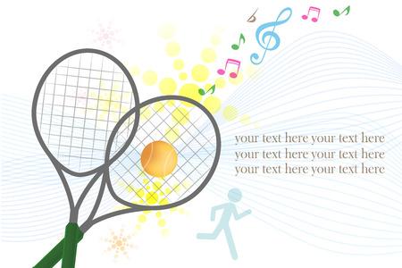 tennis sport design , vector illustration Illustration