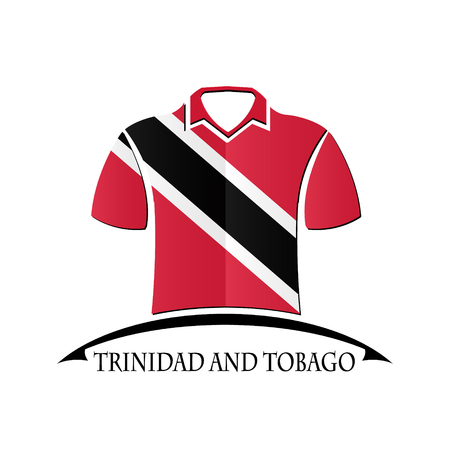 shirts icon made from the flag of Trinidad and Tobago