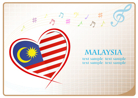 newest: heart logo made from the flag of Malaysia