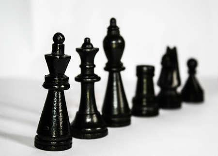 Closeup of international chess