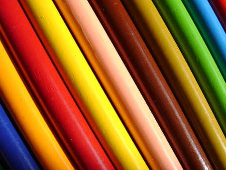 Natural wood color pencils
