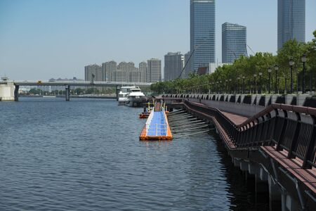 Tianjin Binhai New Area Haihe River Barge Terminal