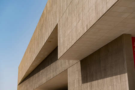 Simple and powerful lines of urban modern architecture 新聞圖片