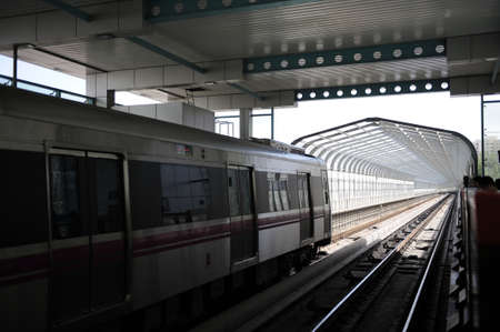 Overground railway photo