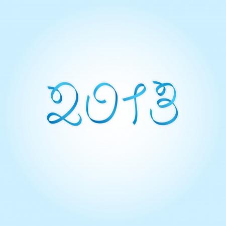New Year 2013 ribbon Stock Vector - 17010960