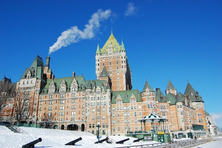 Chateau Frontenac, Quebec City, Canada Editorial