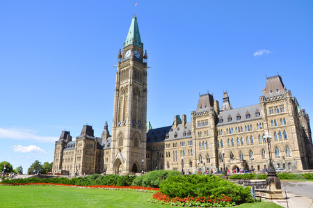 Canada Parliament Buildings, Ottawa, Canada