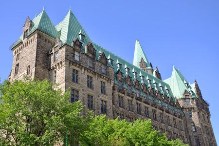 confederation: Confederation Building in downtown Ottawa, Ontario, Canada Stock Photo