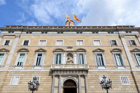 generalitat: Palau de la Generalitat de Catalunya at the Old City (Ciutat Vella) of Barcelona, Catalonia, Spain.