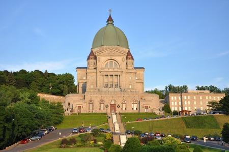 oratoria: Oratorio de San José (en francés: Oratorio Saint-Joseph) en Montreal, Quebec, Canadá Foto de archivo