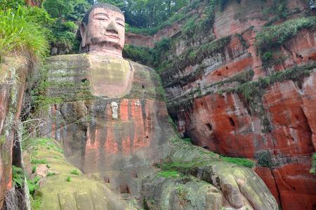 Leshan Giant Buddha (Dafo)  Stock Photo