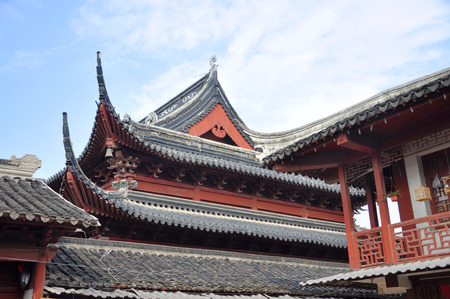 miao: Nanjing Confucius Temple (Fuzi Miao) go back to AD 1034. The temple was the seat of Confucian study for more than 1500 years, Nanjing, Jiangsu Province, China