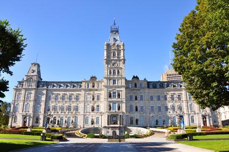 Quebec Parlement is een Second Empire architectonische stijl gebouw in Quebec City, Canada
