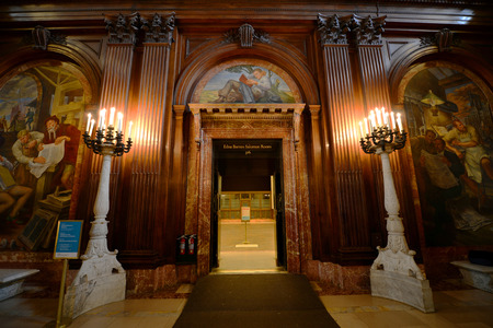 mcgraw: McGraw Rotunda wide angle, New York Public Library, Manhattan, New York City, USA