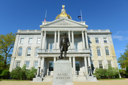 New Hampshire State House, Concord, New Hampshire, USA.  New Hampshire State House is the nation\