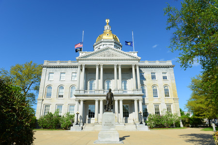 hampshire: New Hampshire State House, Concord, New Hampshire, USA.  New Hampshire State House is the nation\