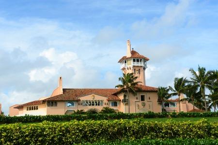 Mar-a-Lago on Palm Beach Island, Palm Beach, Florida, USA. Mar-a-Lago is Palm Beach\\ Redakční