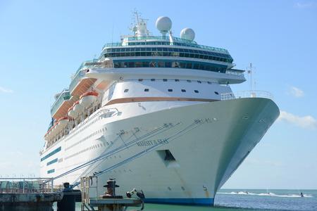 the seas: Majesty of the Seas docked in Key West, Florida, USA