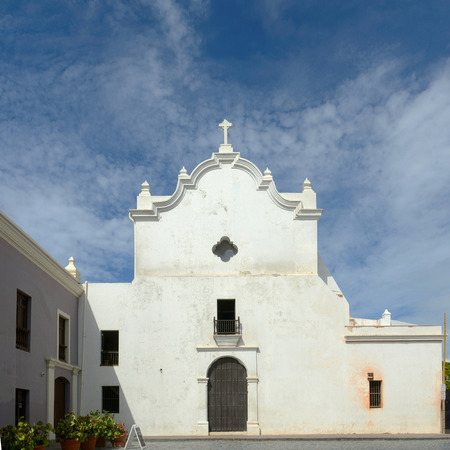 unesco world cultural heritage: San Jose Church, built in 1532, is a Spanish Gothic architecture in Old San Juan, Puerto Rico.
