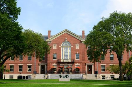 Faunce House is een koloniale Revival stijl gebouw in de Brown University. Dit gebouw werd gebouwd in 1903 en was oorspronkelijk de naam Rockefeller Hall, Brown University, Providence, Rhode Island, Verenigde Staten Redactioneel