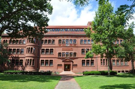 harvard university: Sever Hall in Harvard Yard Harvard University Cambridge Massachusetts USA