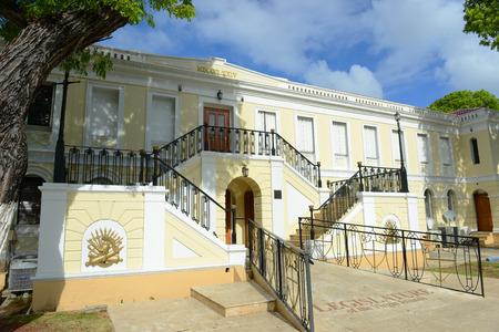 legislature: Legislature Building Capitol Building of U.S. Virgin Islands in Charlotte Amalie, Saint Thomas, U.S. Virgin Islands.