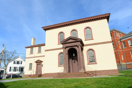 surviving: Newport Touro Synagogue is the oldest surviving Jewish synagogue in North American which was built in 1763, Newport, Rhode Island, USA.