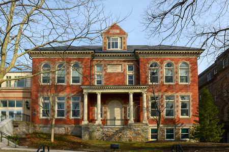 historical building: Townsend Industrial School is a historic school built in 1894 in downtown Newport, Rhode Island, USA. Now this location is Frank E. Thompson Middle School and Rogers High School.