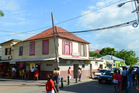 Falmouth Harbour Lane is located at historic downtown in Falmouth, Jamaica.