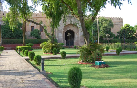mughal: Lahore Fort is registered a Site in 1981, in Punjab, Pakistan.