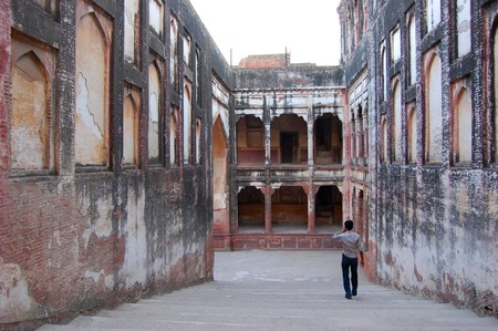 mughal: Lahore Fort in Old city Lahore.   in Punjab, Pakistan. Editorial