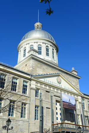 revival: Bonsecours Market Marche Bonsecours is a Renaissance Revival style building built in 1844 in Old town Montreal, Quebec, Canada. Editorial