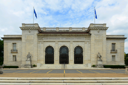 OAS (Organization of American States) Building is the headquarter of OAS in Washington DC, USA.